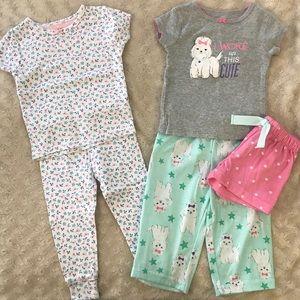 Carter's Pajama Bundle Size 12 Months Short Sleeve